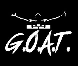 9f0b25a99cb5 Lebron James GOAT shirt LBJ King G.O.A.T. Bron Los Angeles Lakers ...