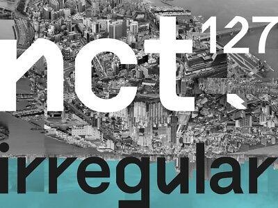 NCT #127 Regular-Irregular Irregular ver. CD+Poster+Free Gift NCT127