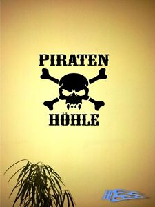 Wandtattoo-Piraten-Piratenhoehle-2-Wandaufkleber-Deko