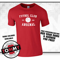 Arsenal Futbol Club T-Shirt, Arsenal T-shirt, Gooners AFC