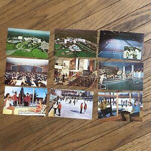 The Concord Hotel Kiamesha Lake NY..Giant Sled Vintage Postcard