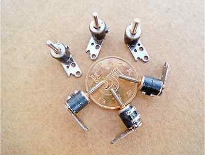 10pcs Cannon 6mm Mini Stepper Motor 3v-5v 2-phase 4-pin Motor