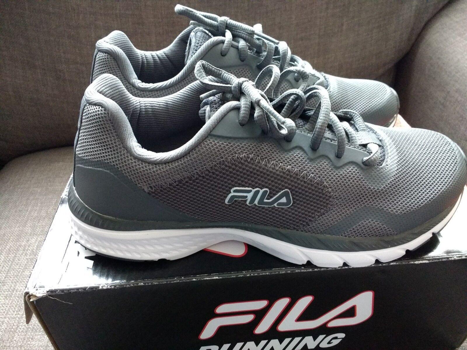 FILA GREY TRAINERS SIZE 6 NEW IN BOX