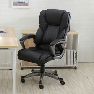 High Back PU Leather Executive Office Desk RC1 Computer boss Gaming Chair boss