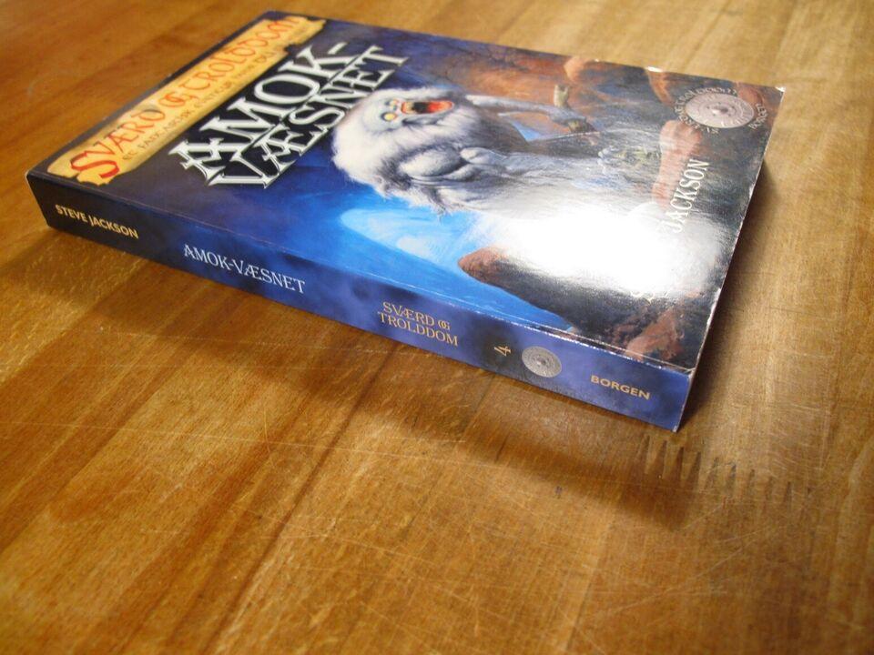 Sværd og Trolddom 4: AMOK-væsenet (2. udg., 2007), Steve