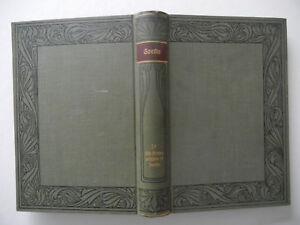 Meyers-classique-Ausgabe-de-Goethe-uvres-Bande-10