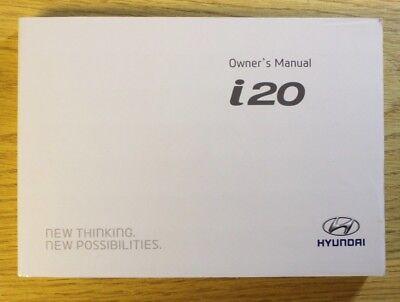GENUINE HYUNDAI I30 OWNERS MANUAL HANDBOOK AUDIO MULTIMEDIA 2011-2017 BOOK