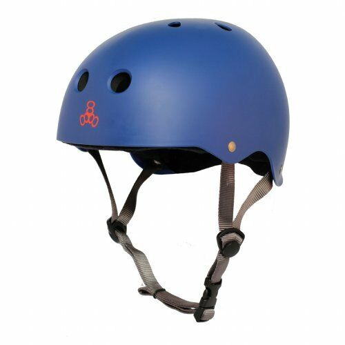 Triple Eight Brainsaver Water Helmet with Halo Comfort Liner - XL - Mat bluee