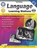 Language Learning Stations, Grades 6 - 8 (english Language Arts)