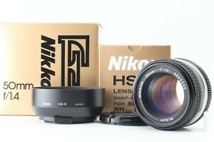 TOP-Mint-in-Box-Nikon-AI-S-Nikkor-50mm-f1-4-MF-Objektiv-mit-Kapuze-aus-Japan-0029