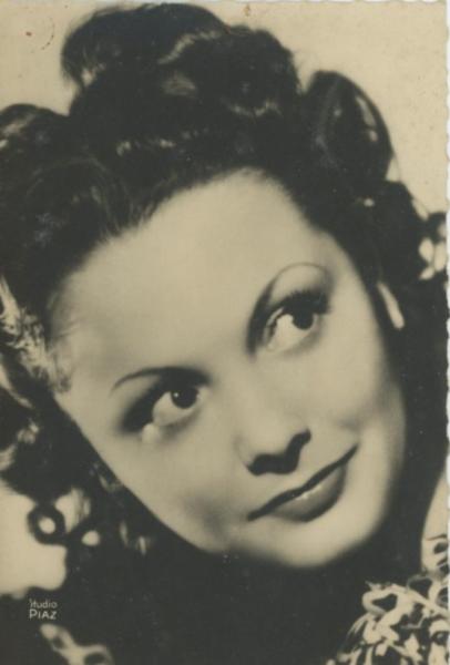 Louise Carletti Vintage Silver Print Tirage Argentique 9x14 Circa 1939