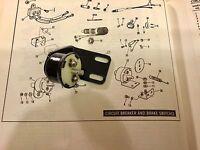 Harley Sportster Brake Light Switch 72004-75 1975-78