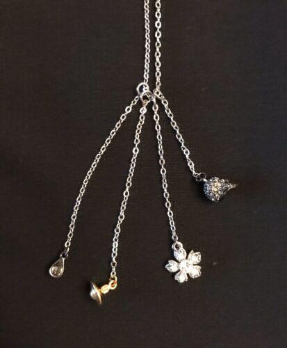 Vivienne Westwood Necklace Skull, Orb & More. Sil… - image 1