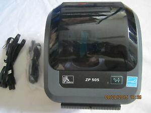 Zebra zp 500 plus printer