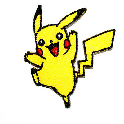 Cute Pikachu Pokemon GO Cartoon Classic Game Clothing Shirt Backpack Iron patch