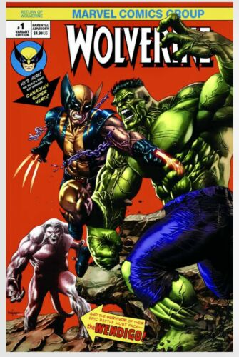 Miko Suayan Exclusive Variant. Return of Wolverine #1 Marvel Comics 2018