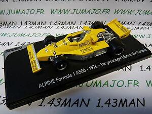 voiture-1-43-ELIGOR-Renault-Formule-1-A500-1976-1er-Prototype-labo-renault