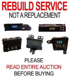 Image Is Loading Toyota Corolla Tacoma 4runner Matrix Rav4 Clock Display