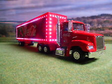 NEW OFFICIAL BRIGHTER LED ILLUMINATED 43CM COCA COLA COKE CHRISTMAS TRUCK MODEL