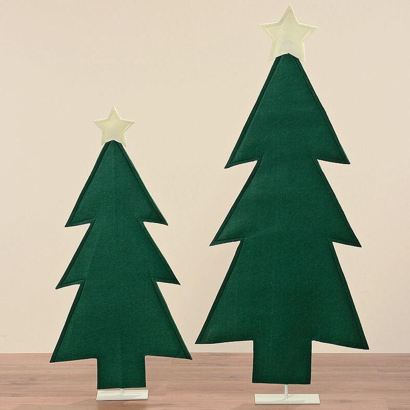 Baum Tanne Filz zum Stellen 93 + 120 cm (345980) Weihnachtsdeko Weihnachtsbaum