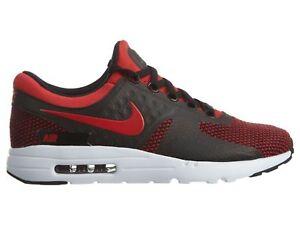 Detalles acerca de Nike Air Max Zero Essential Para Hombres Talla 10 Zapatos Universidad Rojo Negro 876070 600 mostrar título original