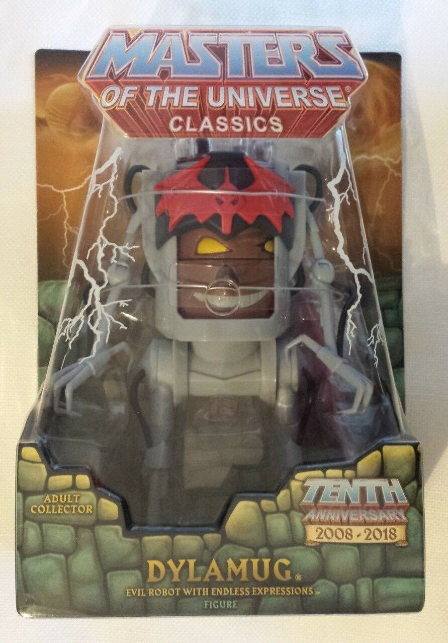 Dylamug MOTUC Masters of the Universe Classics He-Man MOTU Collector's Choice