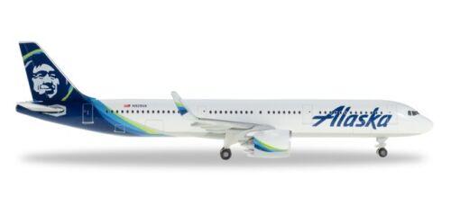 531894 Herpa Wings 1//500 Alaska Airlines Airbus A321neo Art