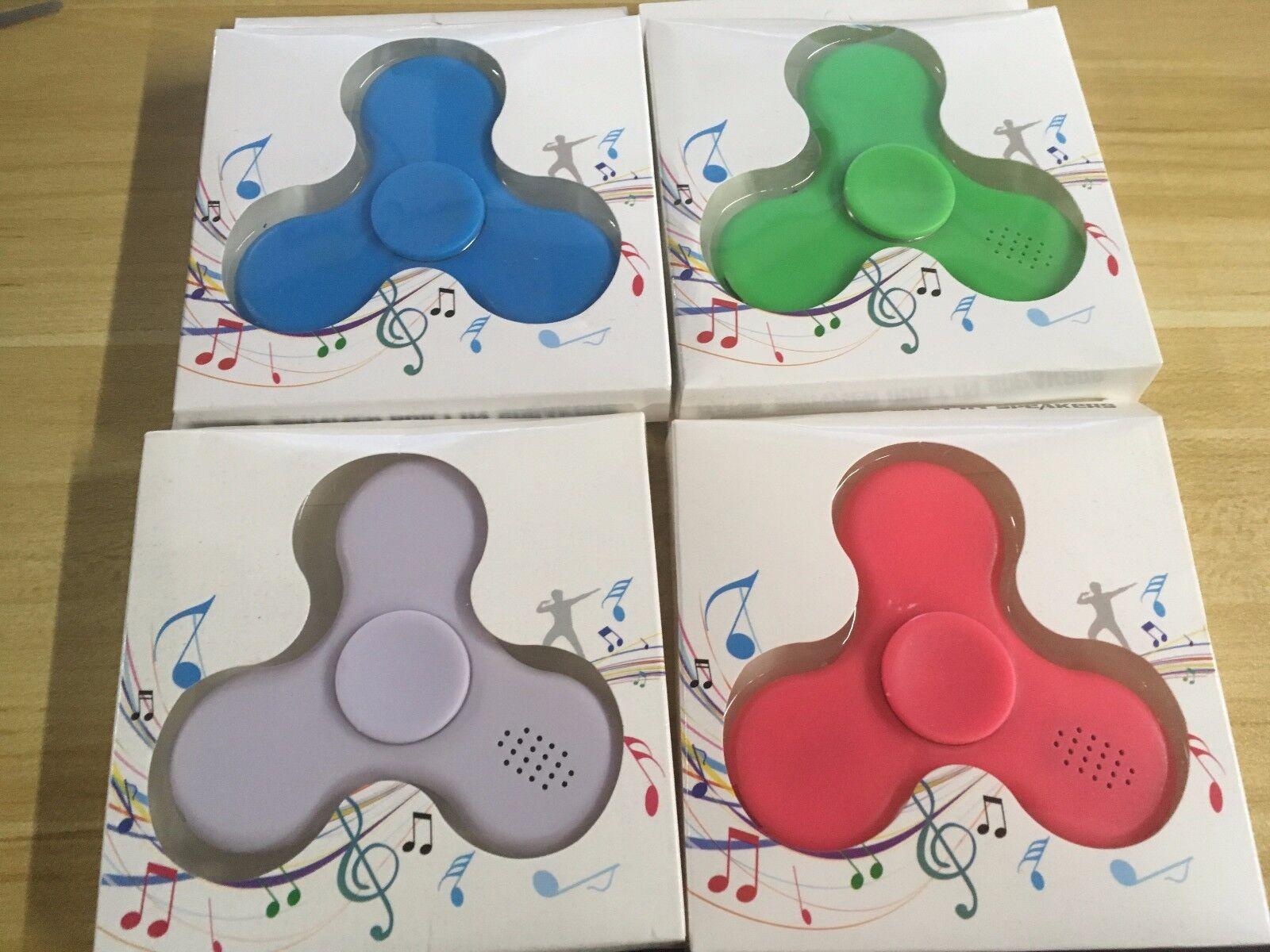 10 X a granel Fidget Spinner azultooth Altavoces De Luz De Juguete Musical NUEVO al por mayor