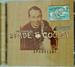 SPADELLA-The-Essential-Spade-Cooley-CD-1994-Country-Classics-VG