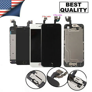 For iPhone 7 8 6 6S Plus 5S Full Assembly LCD Screen Touch Digitizer Replacement