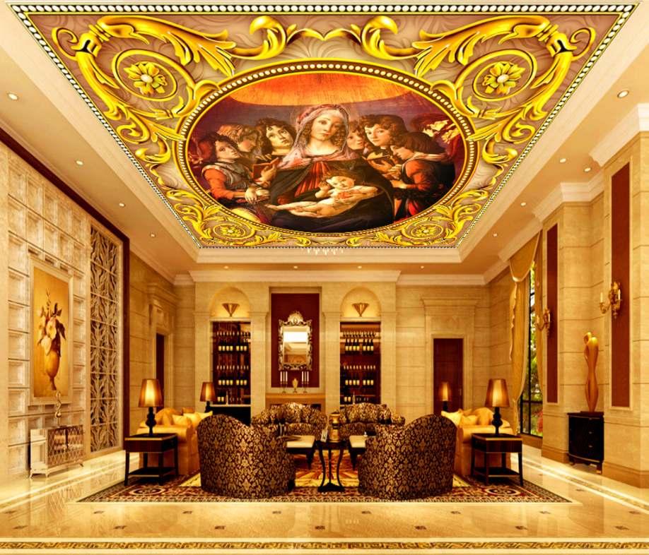 3D Europe Woman 42 Ceiling Wall Paper Print Wall Indoor Wall Murals CA Carly
