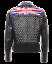 NUOVA-linea-uomo-UK-Flag-Punk-BRANDO-VINTAGE-COMPLETO-Argento-Punte-Giacca-in-Pelle-con-Borchie miniatura 3