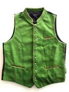 Stockerpoint Trachtenweste Gilet Ricardo hellgrün Weste 48 50 grün frisch Samt