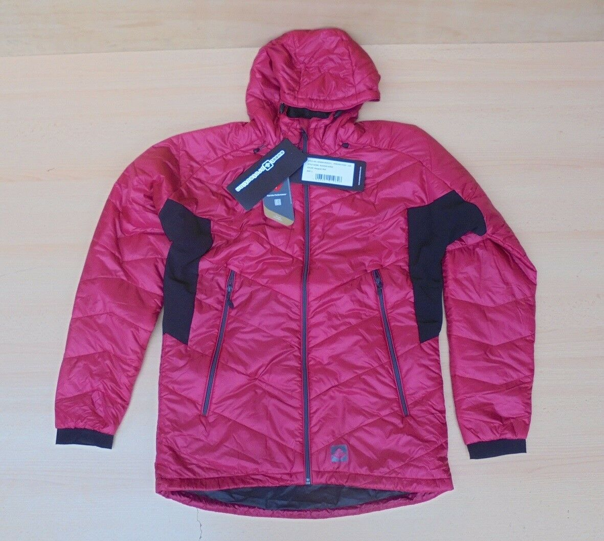 Sweet Protection Herren Nutshell Jacket Jacke Gr. L Rangoon rot Rot