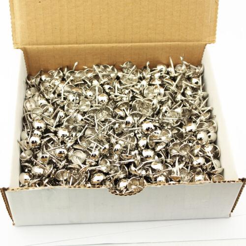 "Osborne 1000 Pcs 7//16/"" Nickel Plated Nails #682N Decorative Tacks C.S"