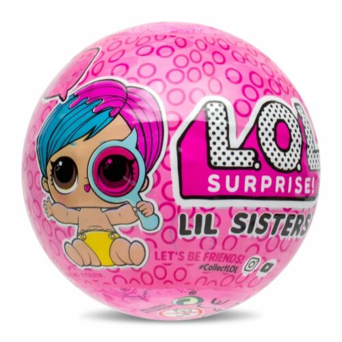 LOL Surprise Little Sisters Lil Goodie Series 4 Eye Spy Color Changer New w Ball