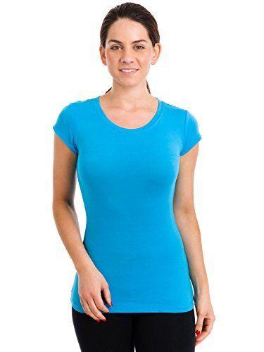 Tresics Junior Women/'s V-Neck Capsleeve T-Shirt SC3263A