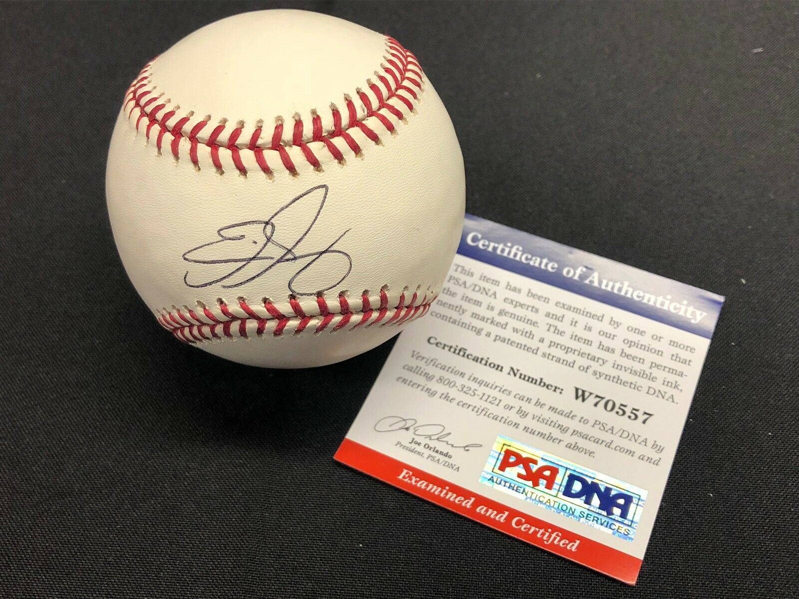Eric Gagne Signed Major League Baseball MLB *Game Over *07 WSC *Cy Young PSA
