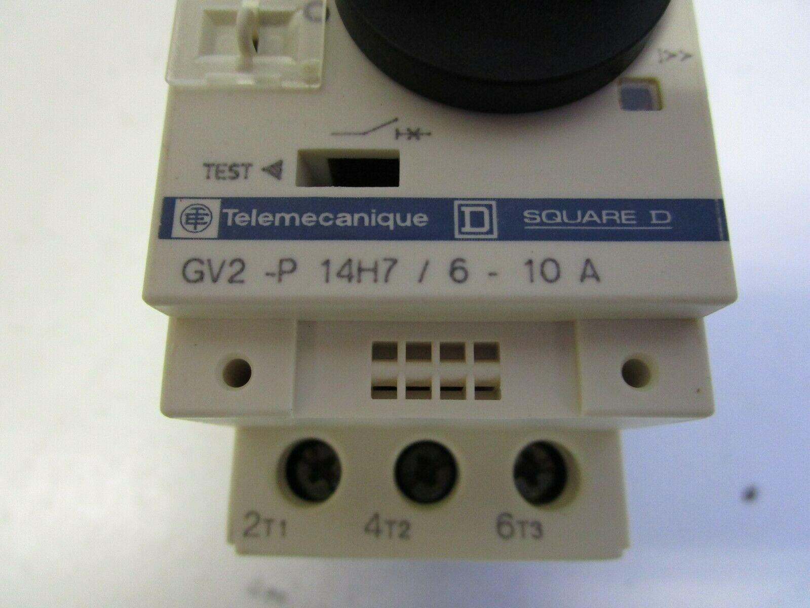 TELEMECANIQUE 6-10A MANUAL MOTOR STARTER /& PROTECTOR GV2-P14H7 *PZB*
