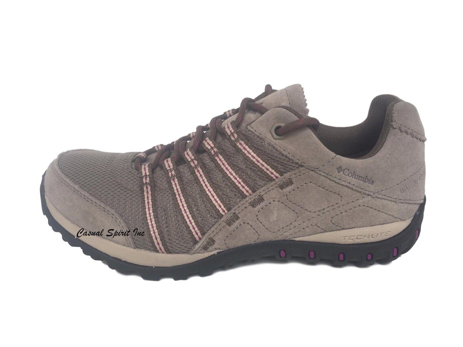 Nuevo  Para Mujer Columbia Acueducto II Omni Tech Impermeable Senderismo Trail Zapatos