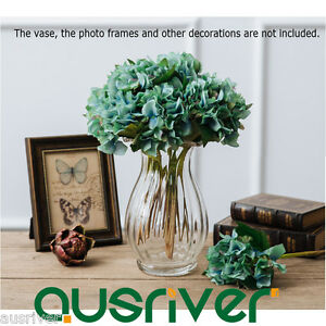 1-4pcs-5-Colours-Artficial-Fake-Hydrangea-Flowers-Home-Wedding-Party-Decor-Gift