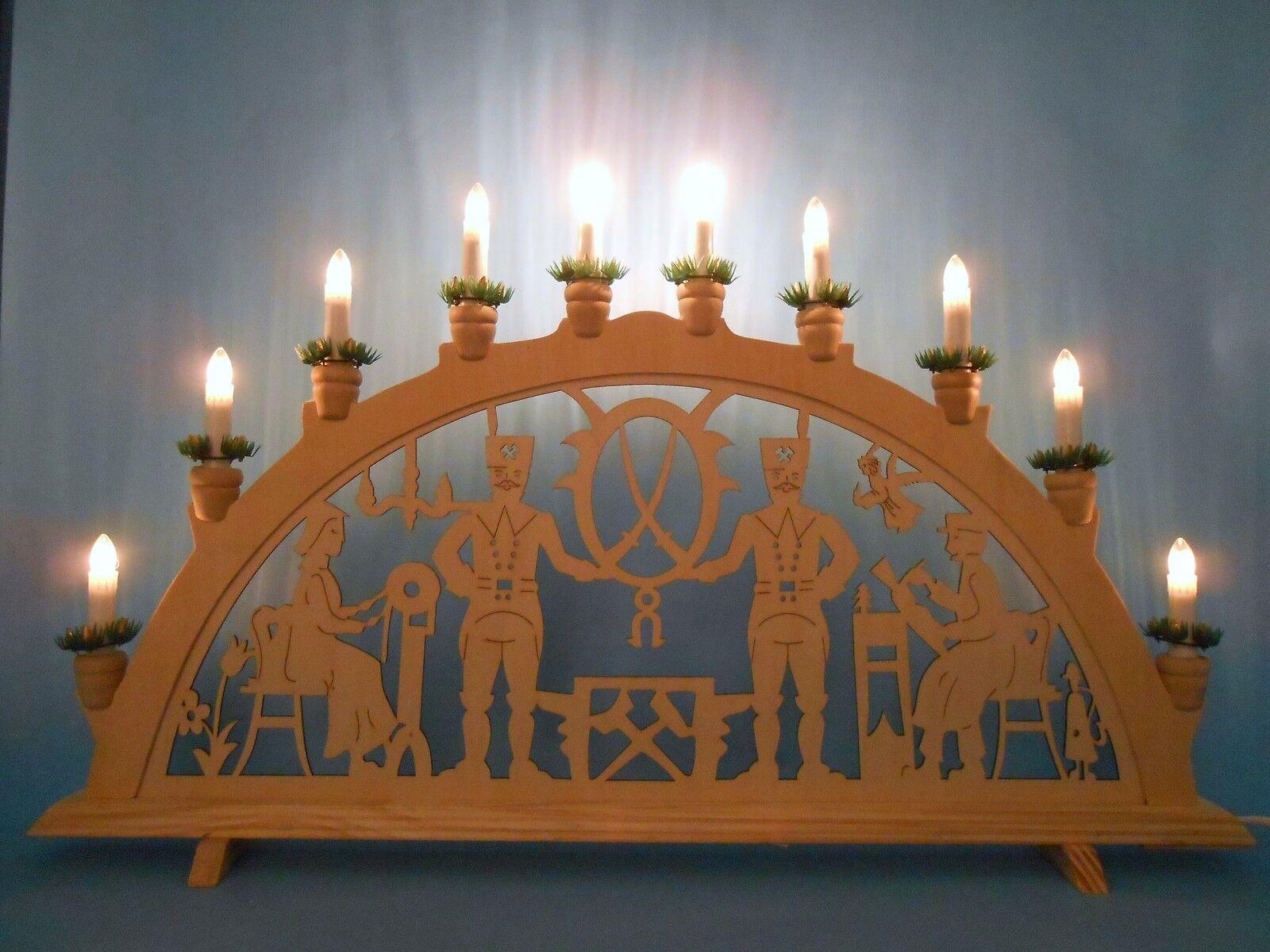 Arches Arc Lumineux Eclairage motif Bergmann dentellière M'TRADITION