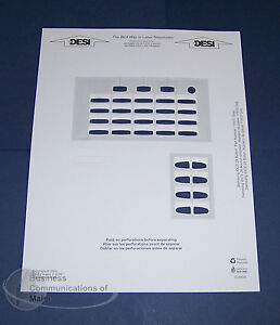 lot of 5 samsung idcs falcon 28 28d phone paper desi labels new ebay. Black Bedroom Furniture Sets. Home Design Ideas
