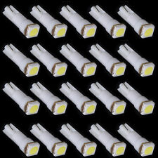 20x T5 White 58 70 73 74 Dashboard Gauge 1 5050 SMD LED Wedge Lamp Bulb Light