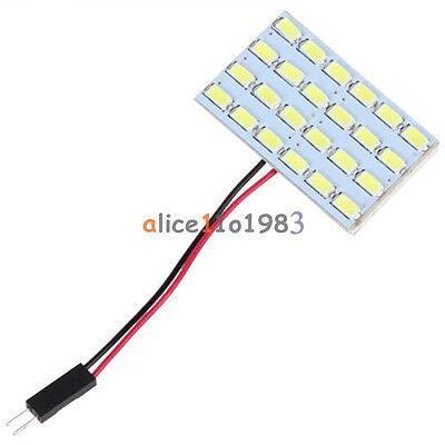 24x 5730 SMD LED Light Panel Board Car Interior Dome Reading Lamp Light 12V 3W