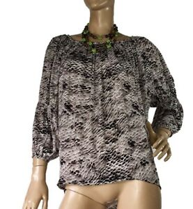 WITCHERY-SIZE-6-PRINTED-PEASANT-STYLE-BLOUSE