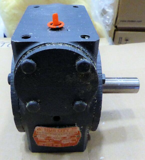 Model 181 HUB CITY 0220-60160 Worm Gear Drive 50//1 Ratio Style A