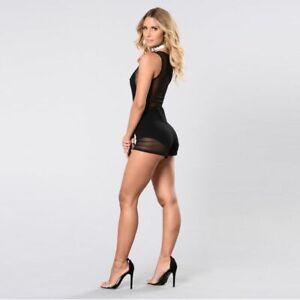 Pants-Cocktail-Sexy-Romper-Jumpsuits-Bodysuit-Trousers-Ladies-Party-Clubwear