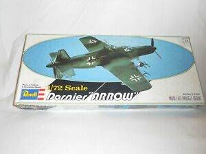 Vintage-1978-Revell-Dornier-Arrow-Model-1-72-Scale-New-Open-Box-See-Description