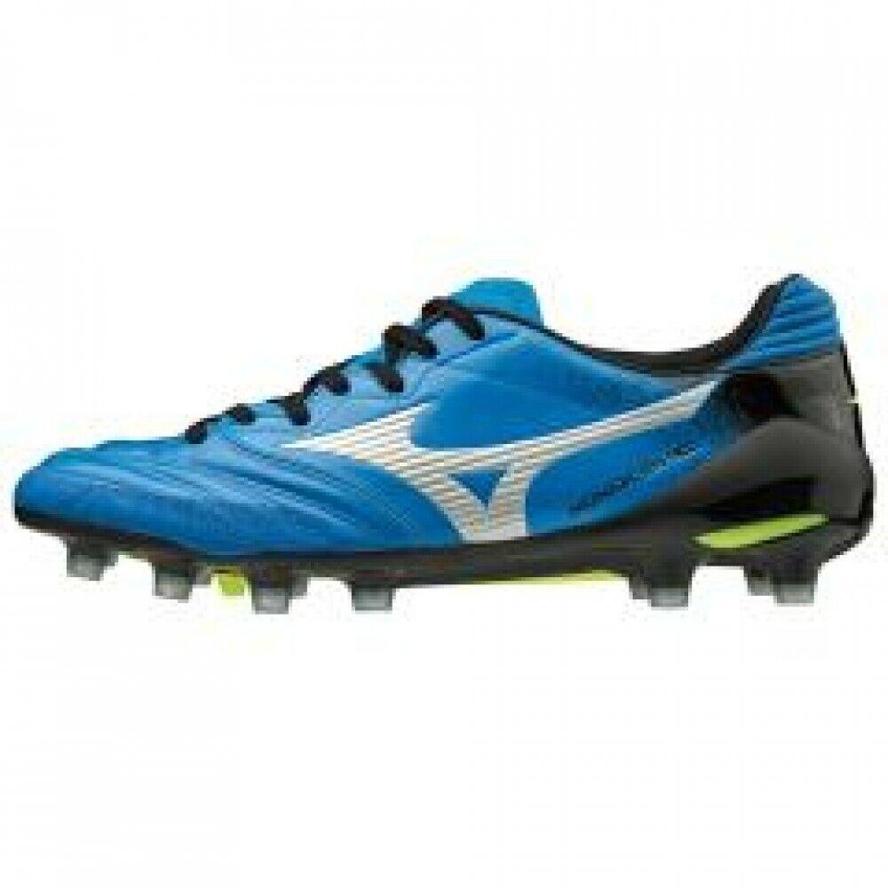 Zapatos de fútbol de Mizuno Spike monarcida Neo Japón P1GA1920 Azul × Plata